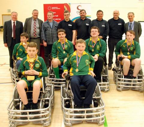 Team from Broadgreen School win Power Hockey Tournament