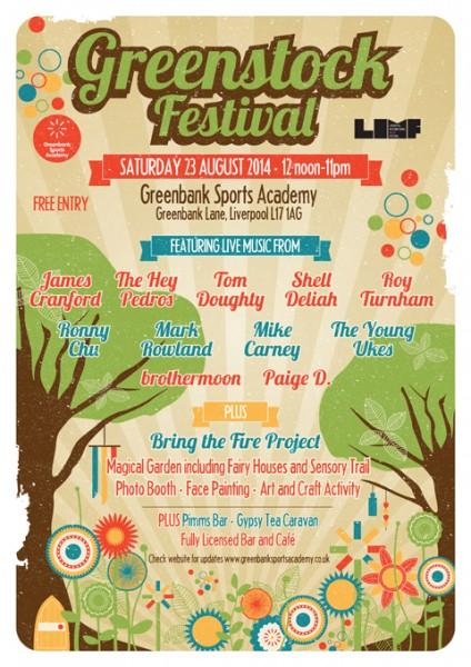 Greenstock Festival 23 August 2014