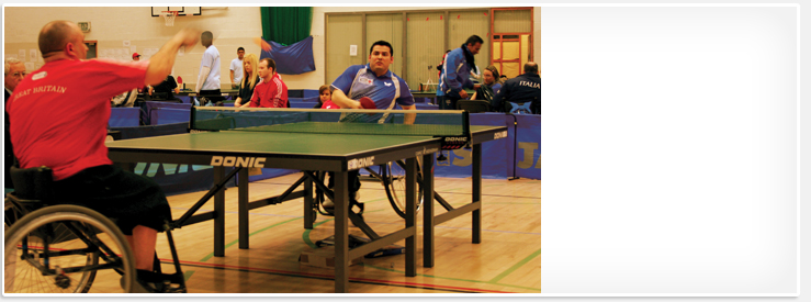 Merseyside Disability Table Tennis Grand Prix