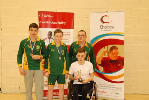 Physical Disability Winners Broadgreen International School