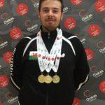 Medal winner Josh Morgan