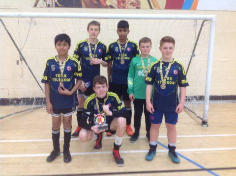 Deaf Football Tournament Winners Leigh A
